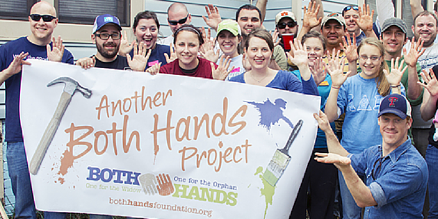 Both Hands Project – The Adoption Fundraiser That Helps A Widow And An Orphan