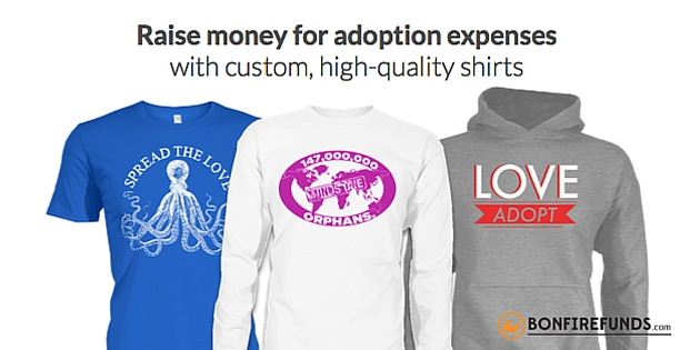 adoption t-shirts