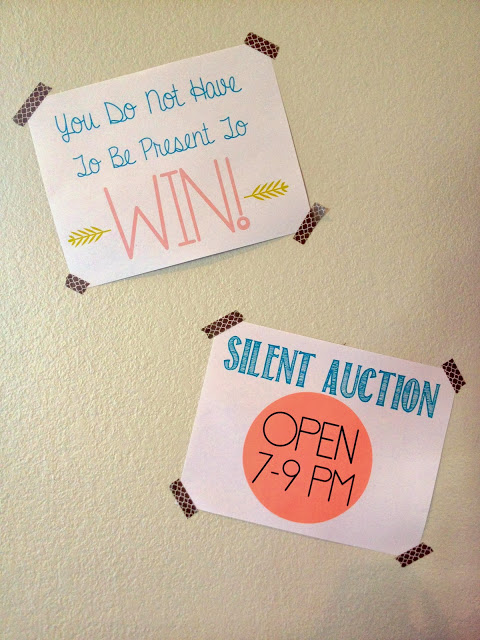 auction-fundraiser-signage