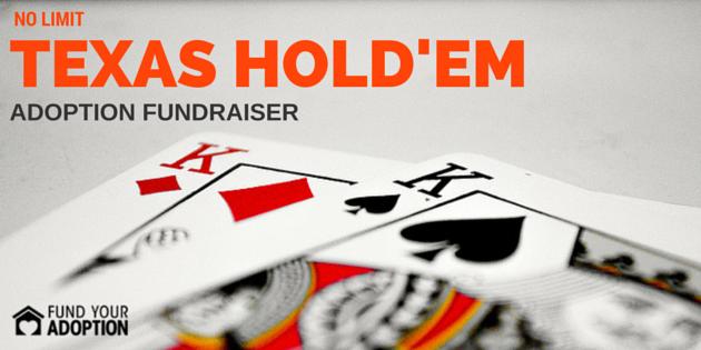 No Limit Texas Hold'em Poker Fundraiser