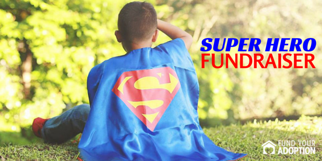 super hero fundraiser