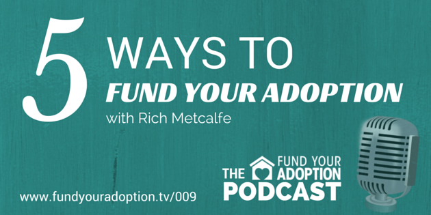 FYA 009: 5 Ways Lifesong For Orphans Can Help You Fund Your Adoption – with Rich Metcalfe