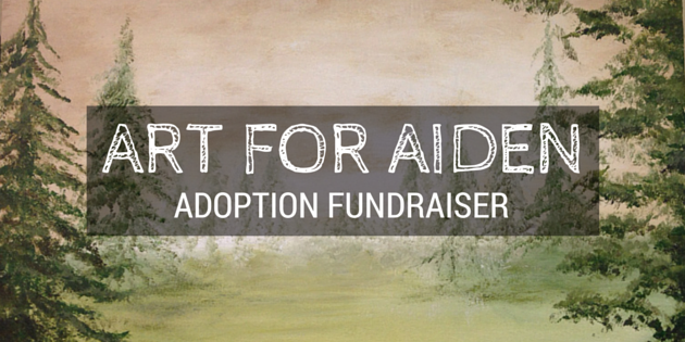 Art For Aiden Adoption Fundraiser