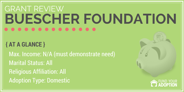 buescher foundation adoption grant