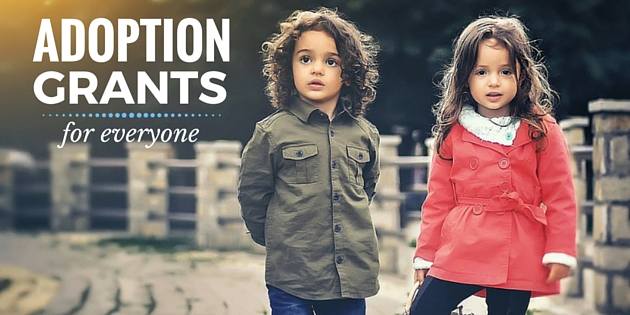 10 Adoption Grants For Everyone