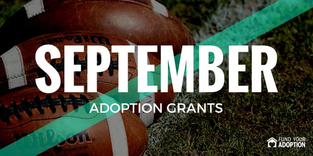 september adoption grants