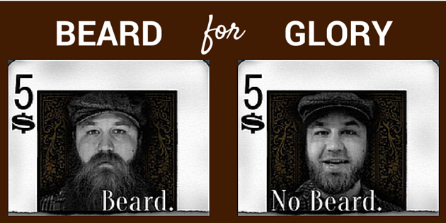 beard for glory adoption fundraiser