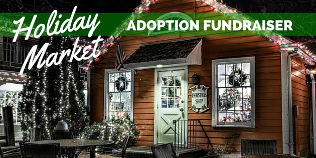 holiday market adoption fundraiser