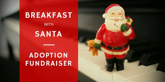 Breakfast With Santa Adoption Fundraiser
