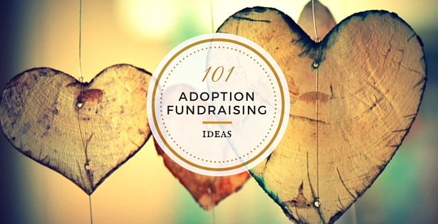 adoption fundraising ideas