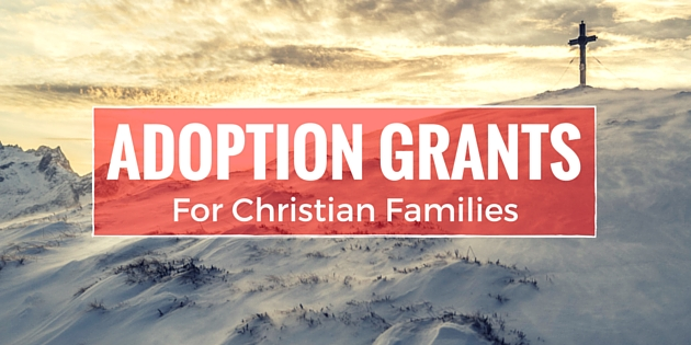 adoption grants for christian families