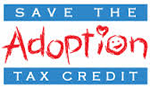 save the adoption the tax credit