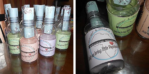 message in a bottle jars