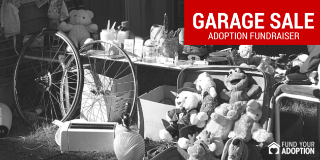 How To Have A Killer Adoption Garage Sale Fundraiser
