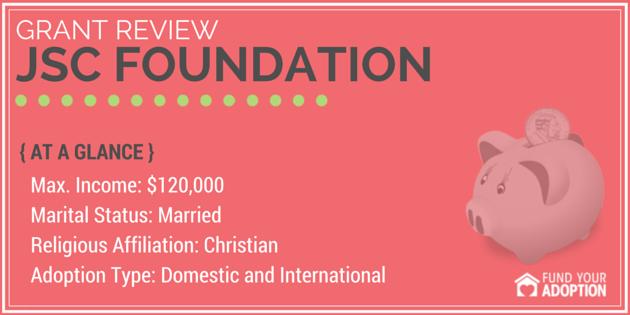 JSC Foundation Adoption Grant