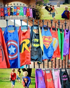 super hero fundraiser