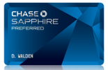 chase sapphire preferred card