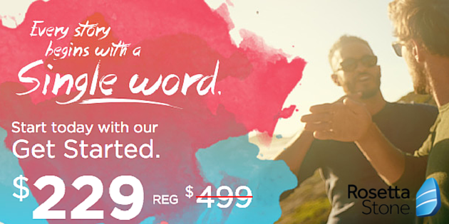 Rosetta Stone Summer Sale: Save $270 + Free Shipping or Instant Download – Ends June 12th